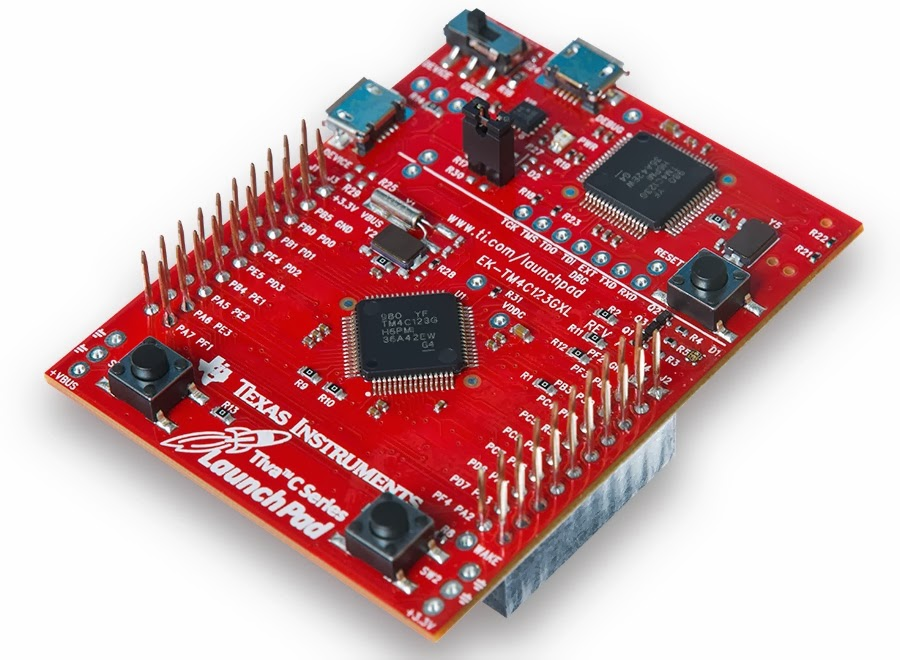 Digitalduino: Using an Tiva-C Launchpad With Energia (Ardunio IDE