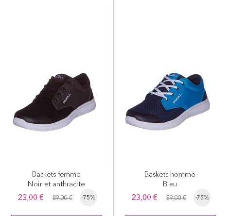 O Sur Ventes Privees Chaussures Neill Internet f1wqRI
