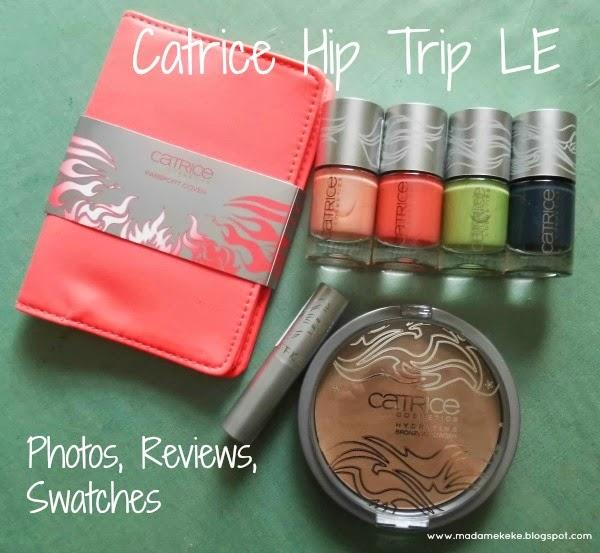 Catrice Hip Trip Limited Edition - Reviews, Photos, Swatches