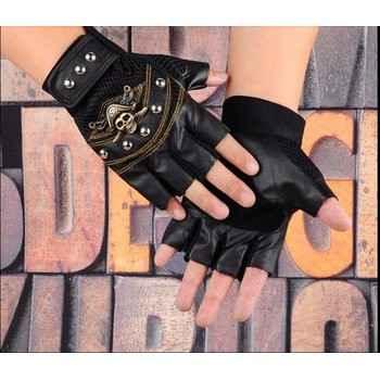 38k - Găng tay gù hở ngón hình đầu lâu giá sỉ và lẻ rẻ nhất