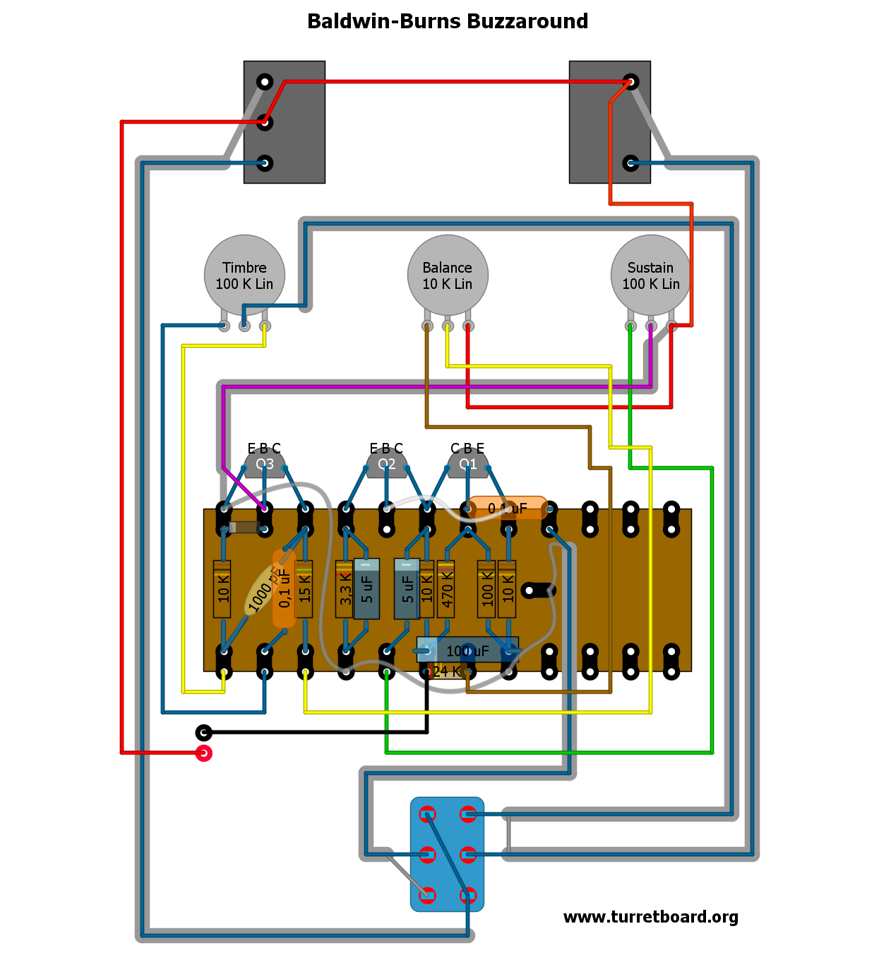 Marshall Mg10 furthermore Program Sound Effects For Your Guitar With Pedalshield additionally Ring Modulator besides Music related schematics moreover Burns Buzzaround Uber Fuzz. on sound effects circuit diagram