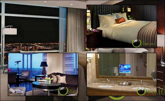 6 Hotel Megah dengan Kamar Mandi Berteknologi Canggih