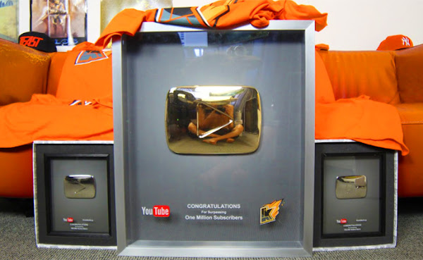 Inilah Macam-Macam Youtube Play Button