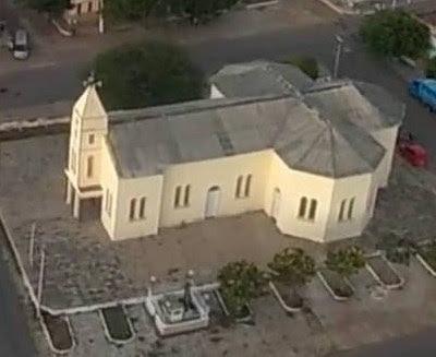 Resultado de imagem para igreja matriz de almino afonso rn
