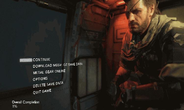 تحميل لعبة Metal Gear Solid V شاملة كل التحديثات