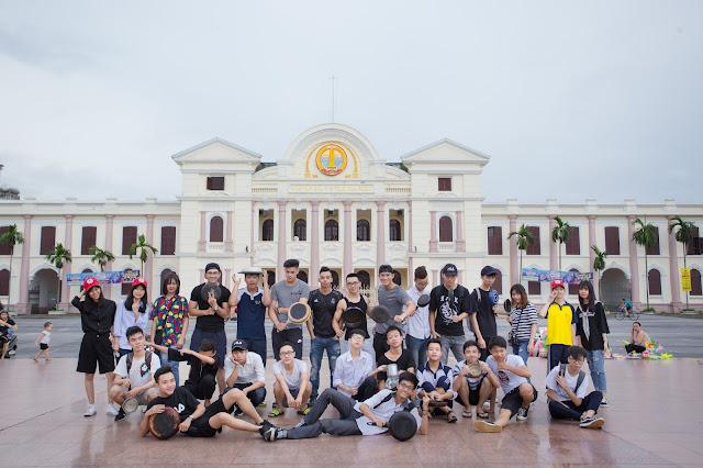 (Sự kiện) Cầm chảo chạy quanh hồ Vị Xuyên, Nam Định