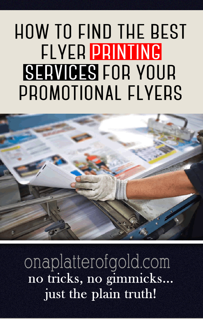 How To Find The Best Flyer Printing Service For Your Promotional Flyers