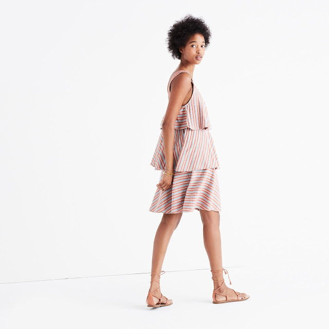 Ace & Jig Simone Dress in Dune - Madewell Exclusive