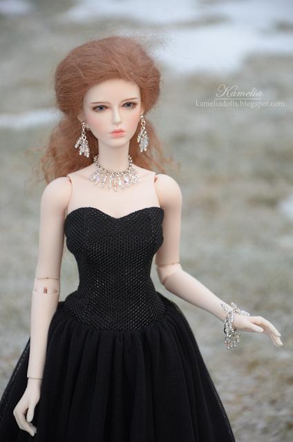 Handmade jewellery for dolls
