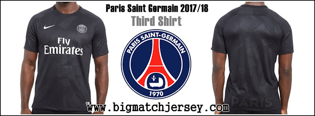 Nike Paris Saint Germain 2017-18 Third Shirt