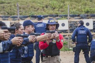 Guarda Municipal de Florianópolis (SC) treina tiro para recuperar porte de arma
