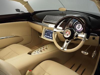 Holden Efijy Concept Model Car Interior Cabin
