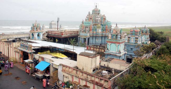 Aerial View Of Sri Mahalakshmi Temple