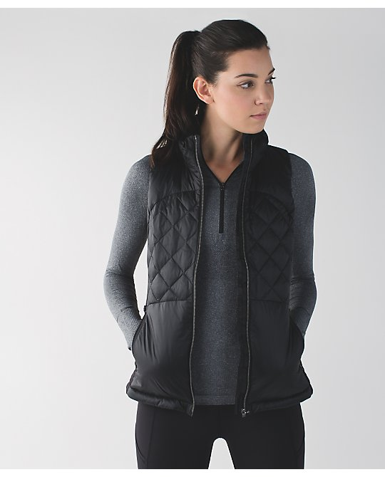 lululemon down-for-a-run-vest black