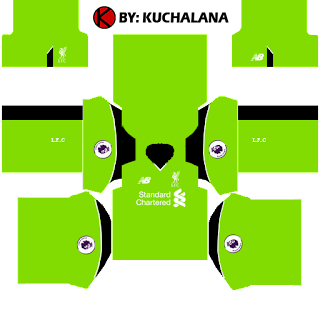 Liverpool Kits 2016/2017 - Dream League Soccer 2015