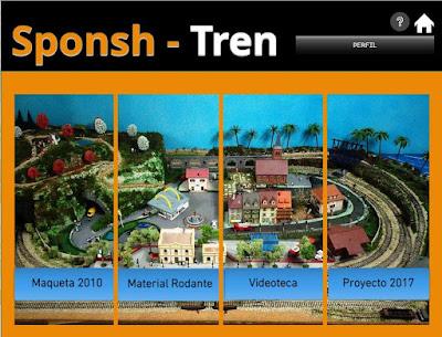 ACCESO A LA WEB DE SPONSH-TREN
