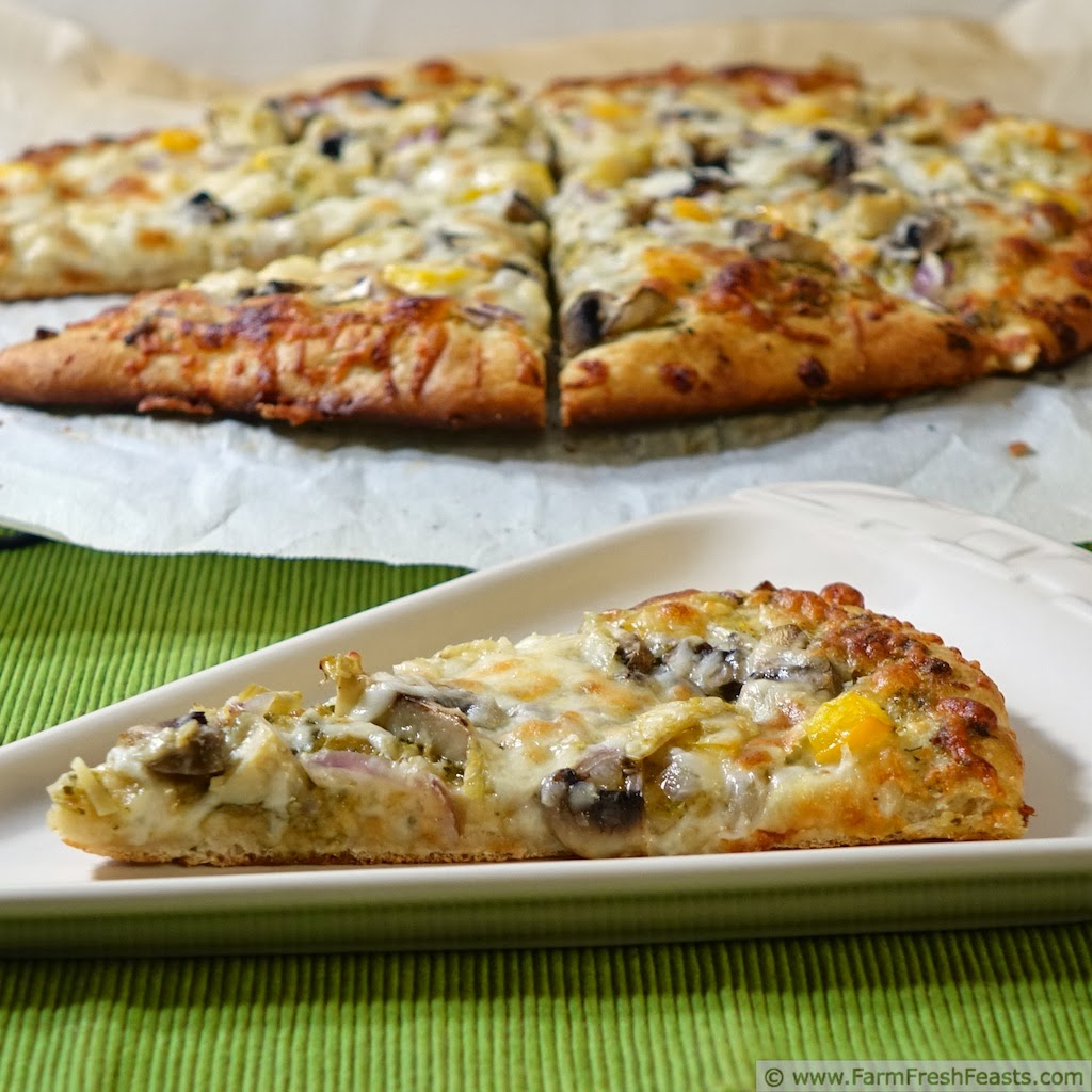 Fast Creamy Honey Wheat Pizza Dough | Farm Fresh Feasts