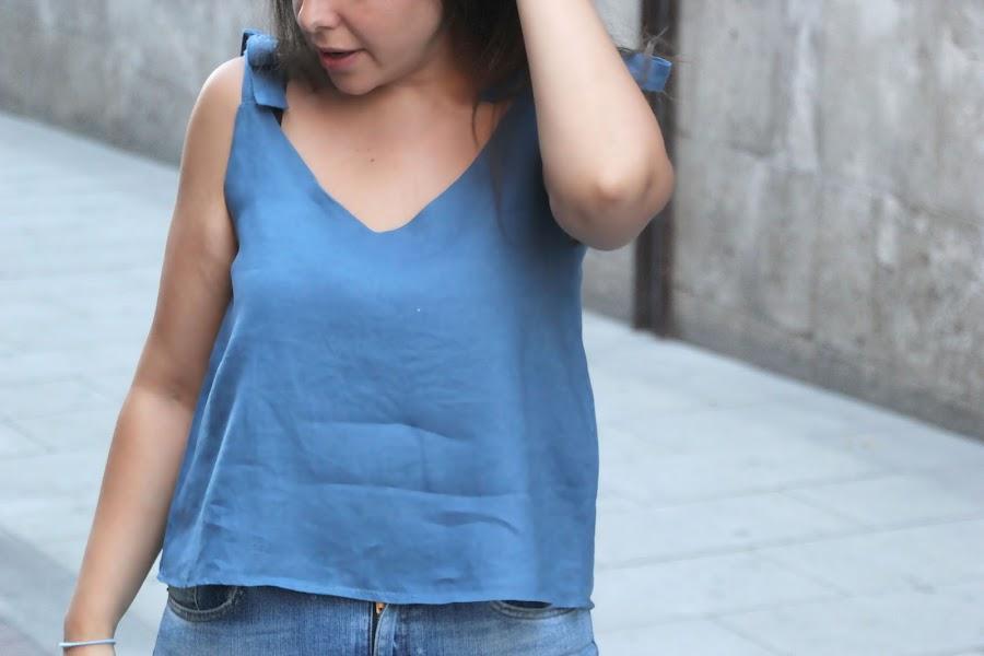 DIY patrones gratis blusa camisa camiseta de mujer costura