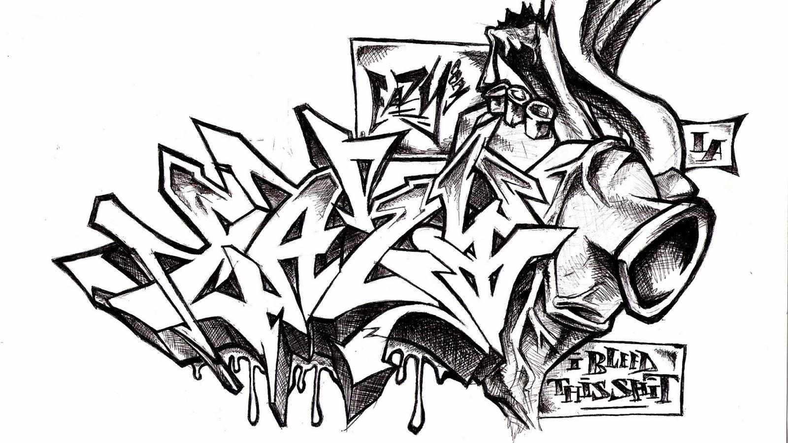 Graffiti Alphabet Styl...