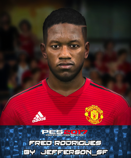 PES 2017 Faces Fred by FaceEditor Jefferson_SF