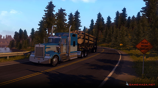 American Truck Simulator Gameplay Screenshot 2