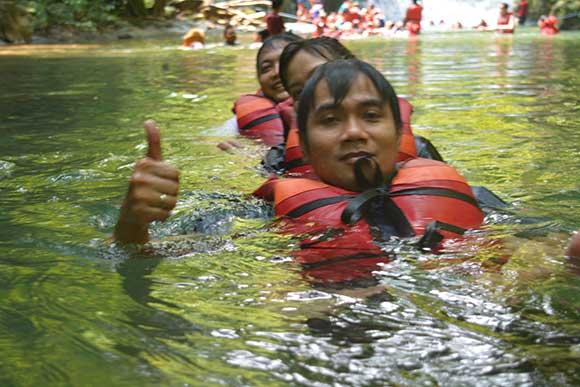 Citumang Body Rafting Pangandaran