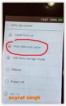 Cara Hard Reset OPPO Find 7