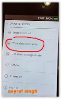 Hard Reset OPPO find muse r821