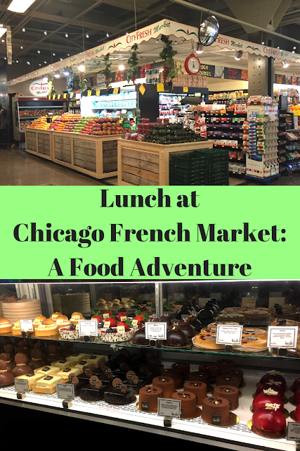 Lunch at Chicago French Market: A Food Adventure