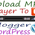 How To Upload MP3 Song To Blogger And WordPress