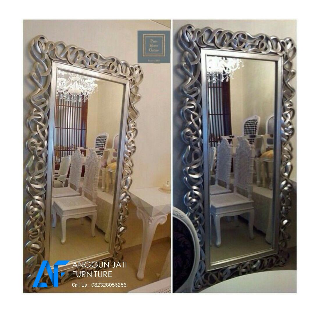 Cermin Dinding Besar Jual Ukuran Anggun Jati Furniture