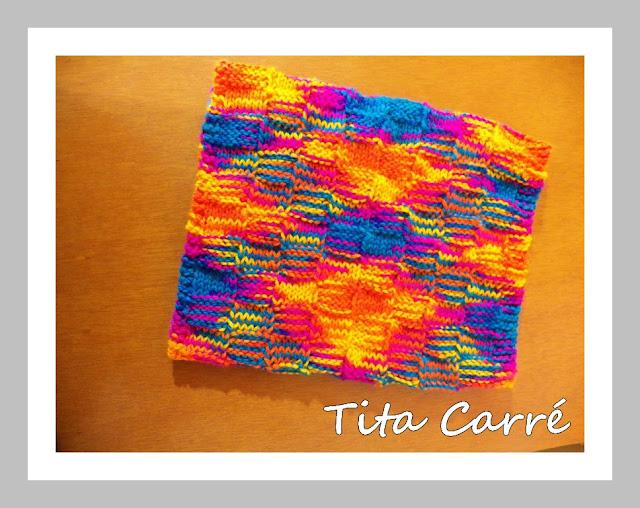 Gola Folia Mais em tricot