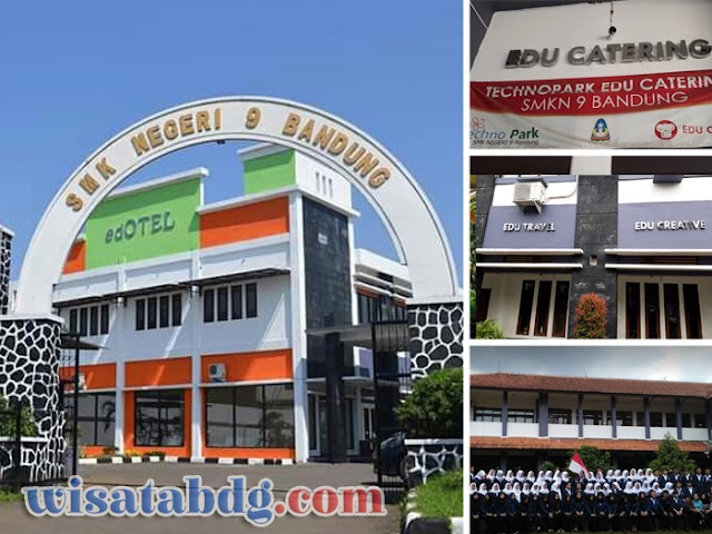 SMKN 9 Bandung Cetak SDM Andal Bidang Keahlian Bisnis Pariwisata