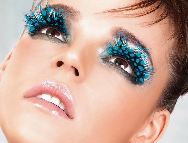 cilios postiços, carnaval, maquiagem