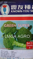 brokoli hibrida green super,benih brokoli hibrida green super,brokoli green super,known you seed