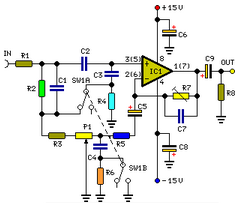 Simple Automatic Loudness Control Circuit Diagram