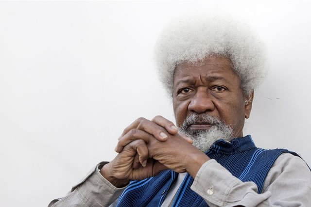 Wole Soyinka destroys his Green Card as promised