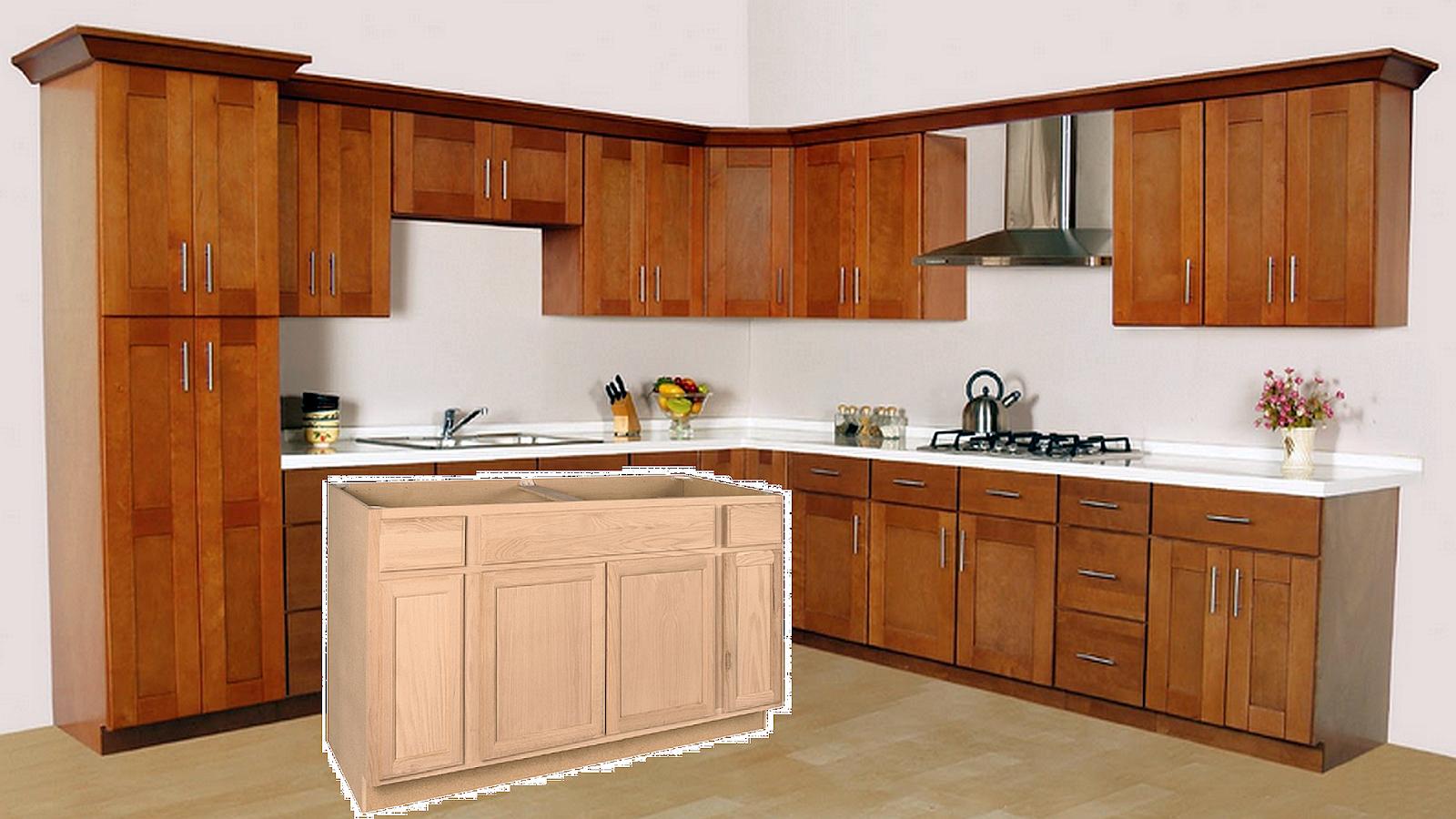 Unfinished Kitchen Cabinets Online
