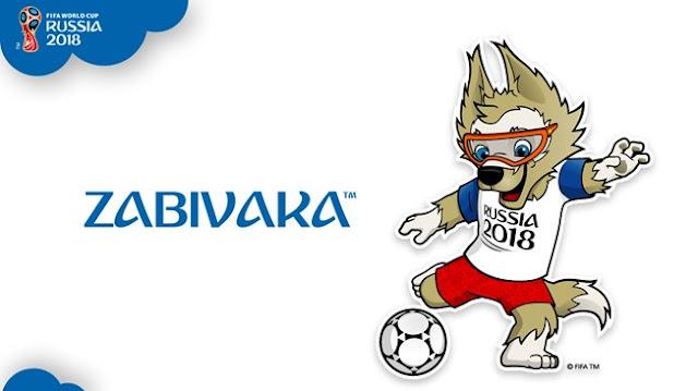 mascote da copa da Rússia