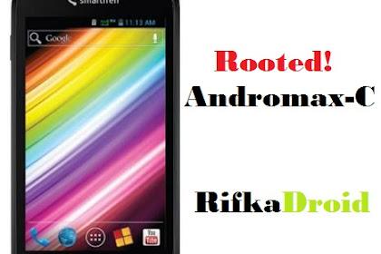 Cara Root dan Pasang CWM Smartfren Andromax C Tanpa PC