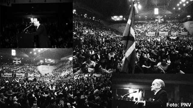 El PNV conmemora en BEC! el 40 aniversario de su primera asamblea nacional tras la dictadura