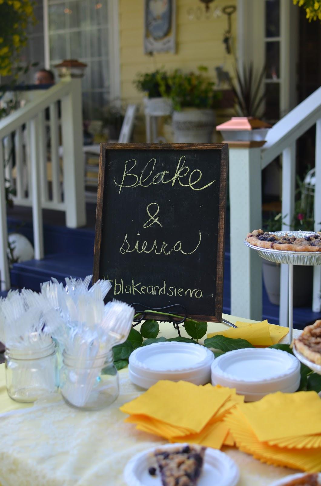 My DIY Wedding Reception