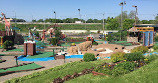 Photo of the Miniature Golf course at Vitense Golfland in Madison, Wisconsin