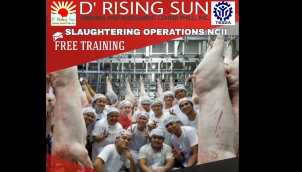 Slaughtering Operations NC II (Free Training)