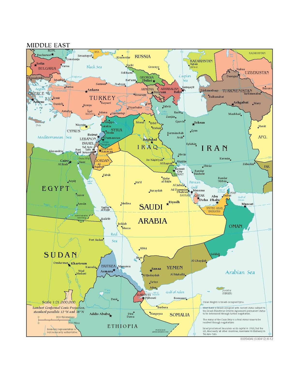 Naher Osten Weltatlas