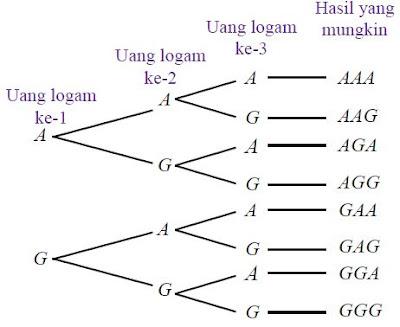 Pengertian dan Contoh Ruang Sampel serta Cara Menentukan Ruang Sampel Suatu Percobaan