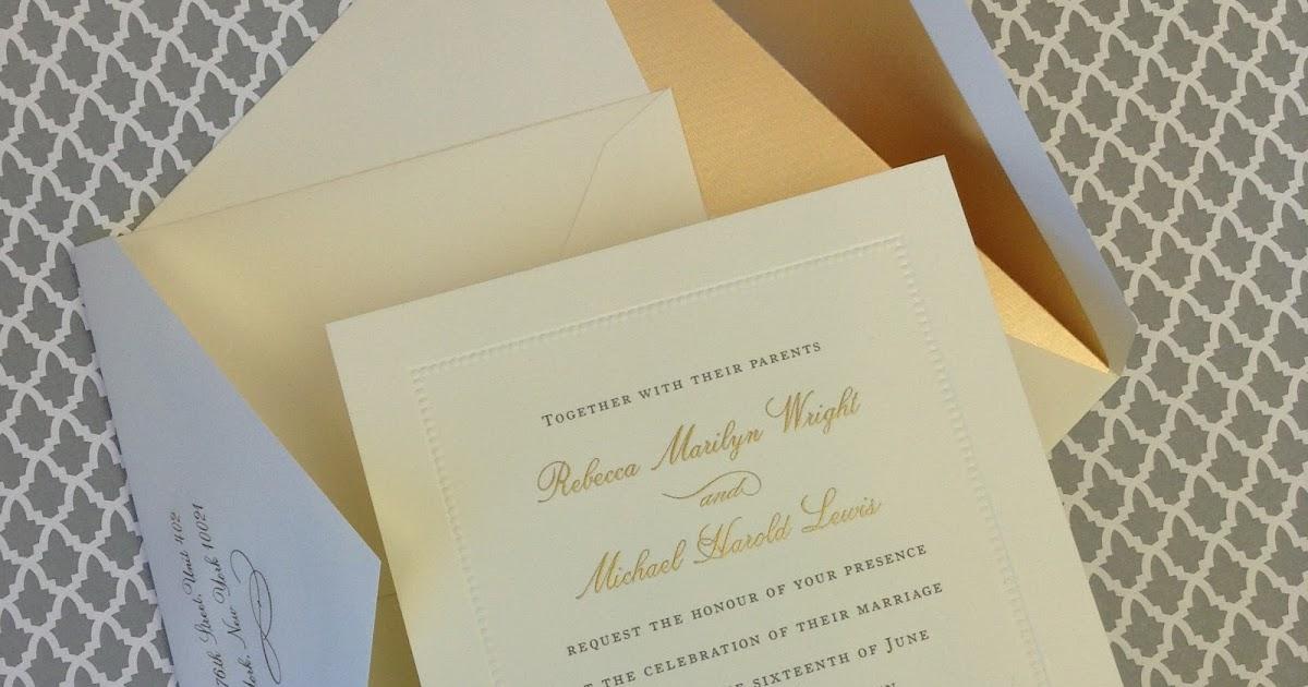 Wedding Invitations William Arthur: New William Arthur Wedding Invitation Samples