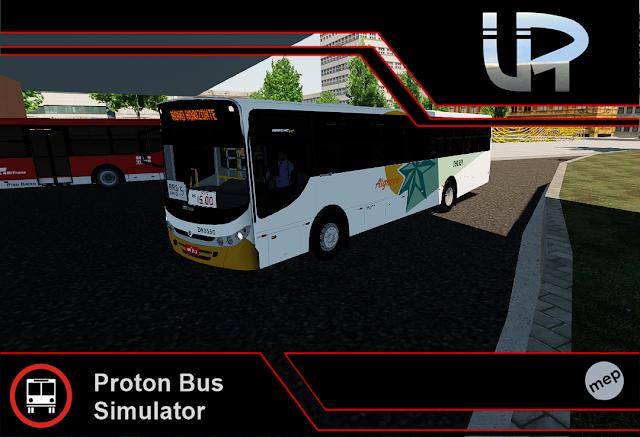 Skin Proton Bus Simulator - Apache VIP II VW 17.230 EOD Viação Algarve