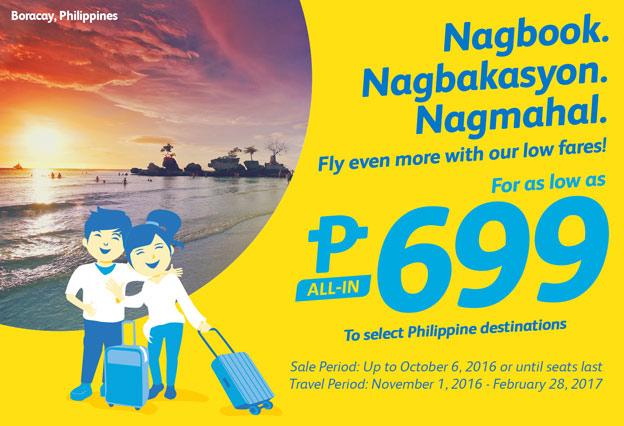 Cebu Pacific Promo 699 Fares
