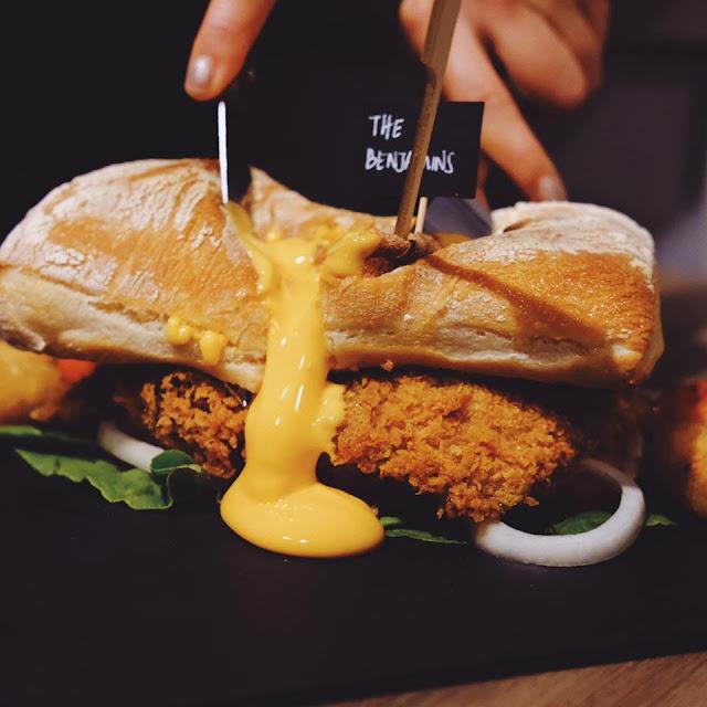 Molten Lava Burger